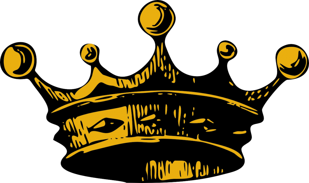 King crown vector free. Crowns clipart pastel