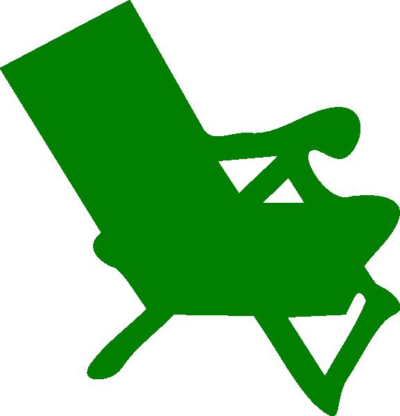 Clipart chair man. Green clip art at