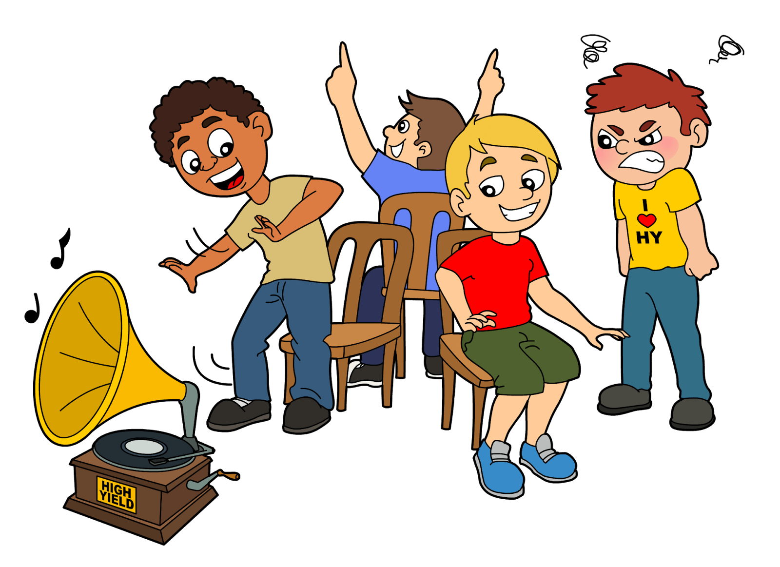 Music clipart fun. Musical chairs chamber of