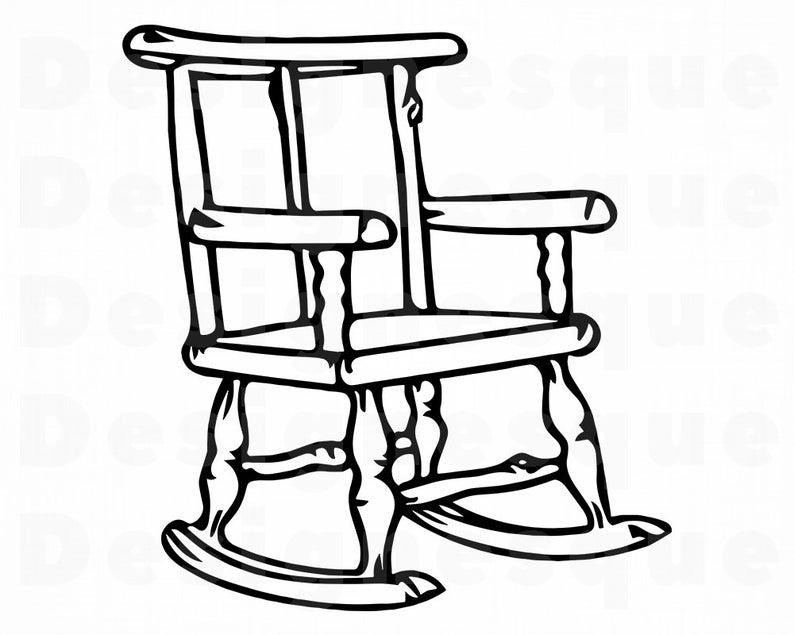 Clipart Chair Outline Clipart Chair Outline Transparent