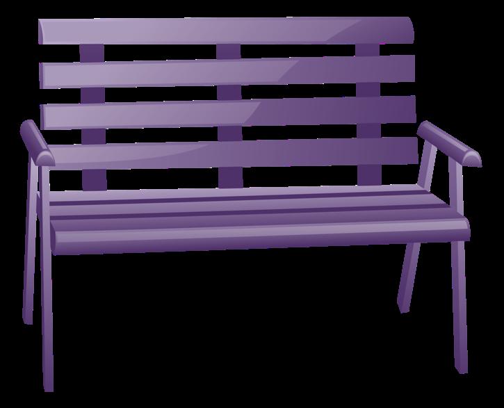 Bench clip art decorative. Clipart chair park