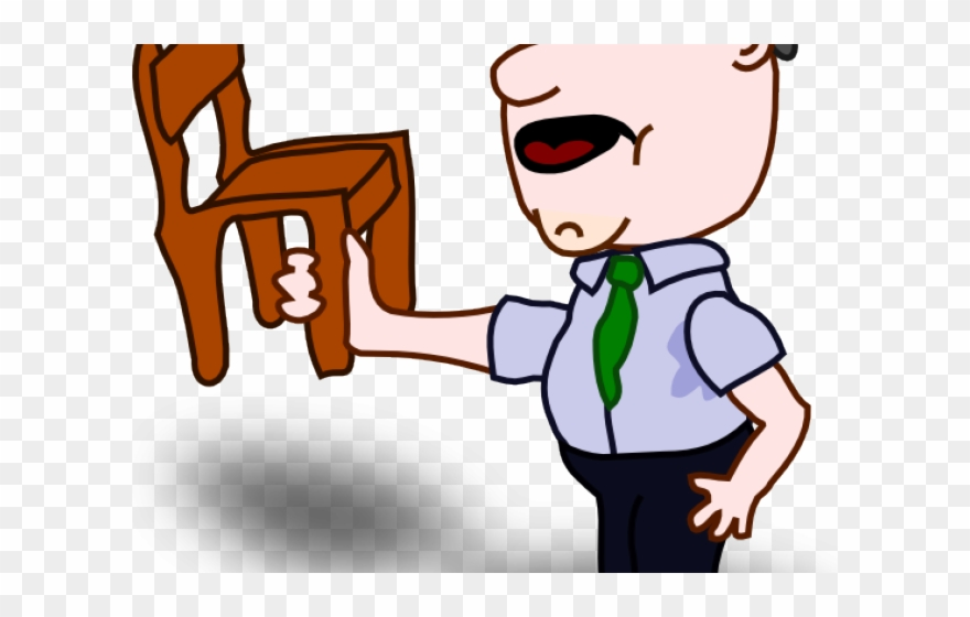 Working clipart work done. Chair person no is