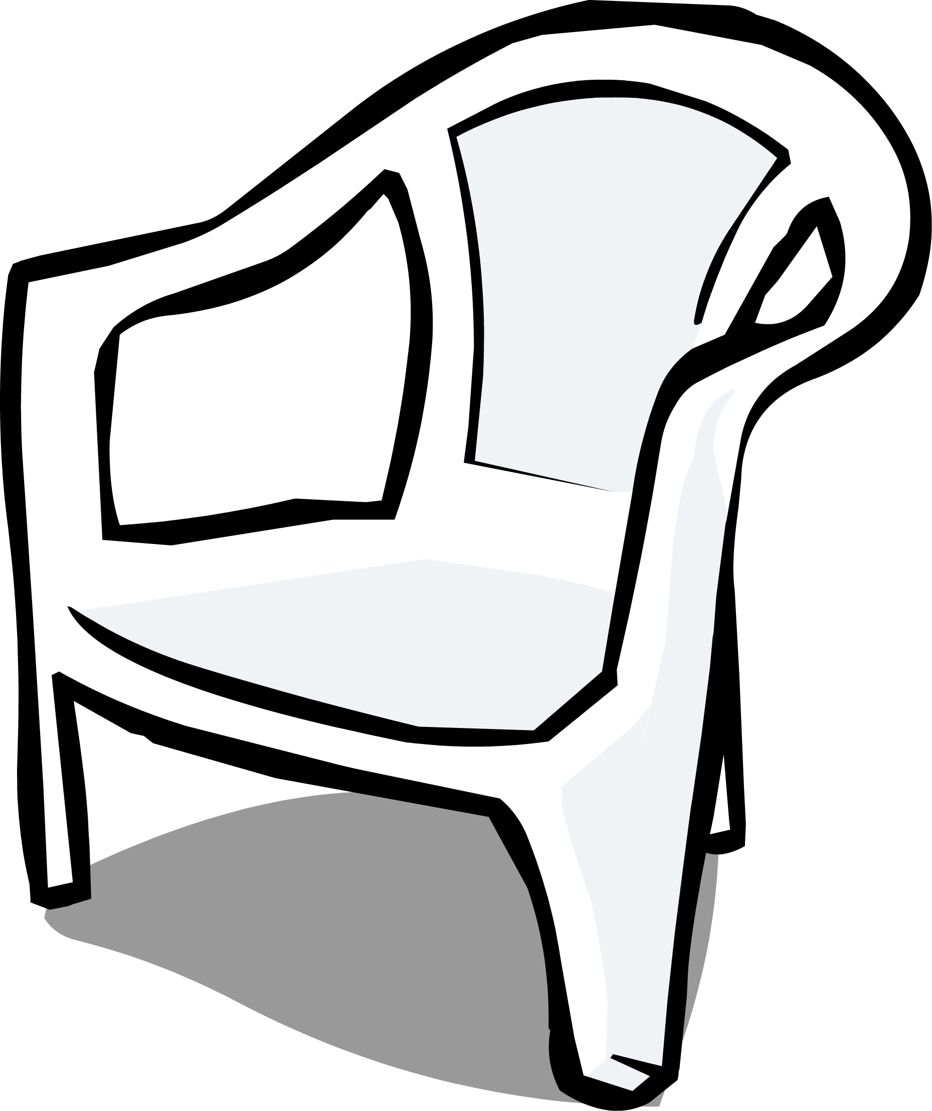 Game clipart chair. Image white plastic sprite
