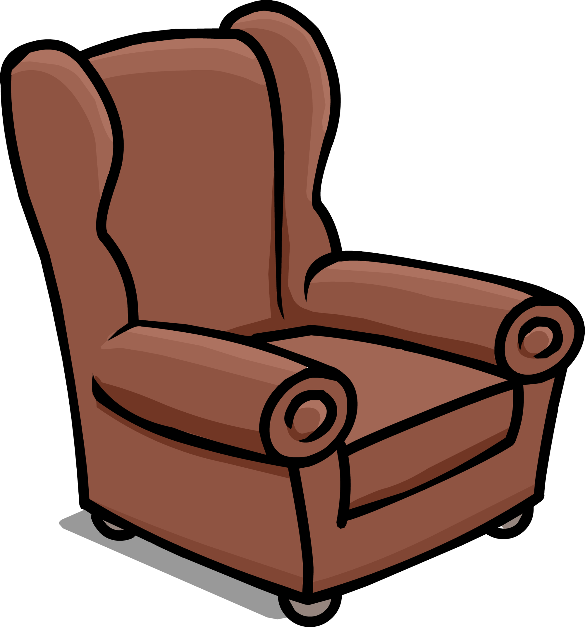 Clipart chair recliner. Image book room arm