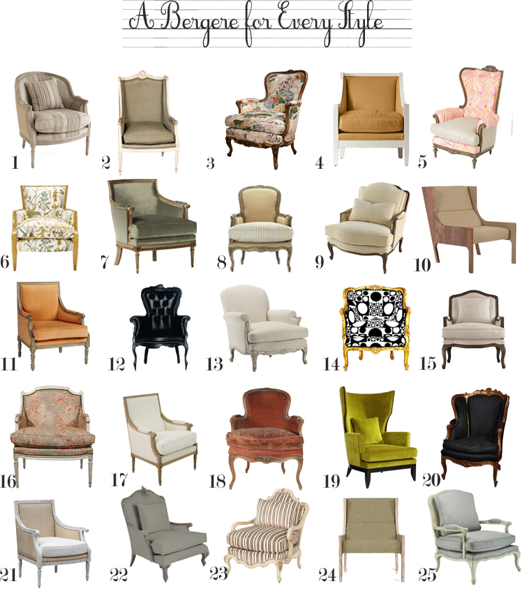 Bergere chair the anatomy. Furniture clipart furniture design