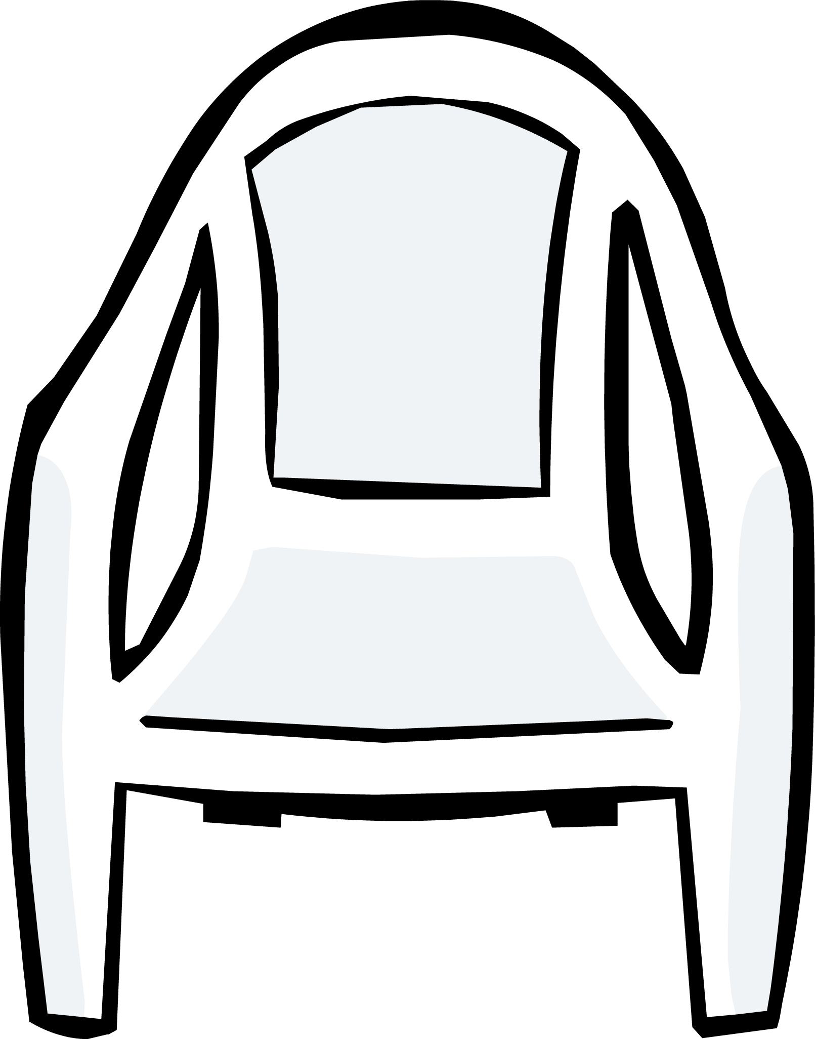 Win clipart white plastic. Image chair png club
