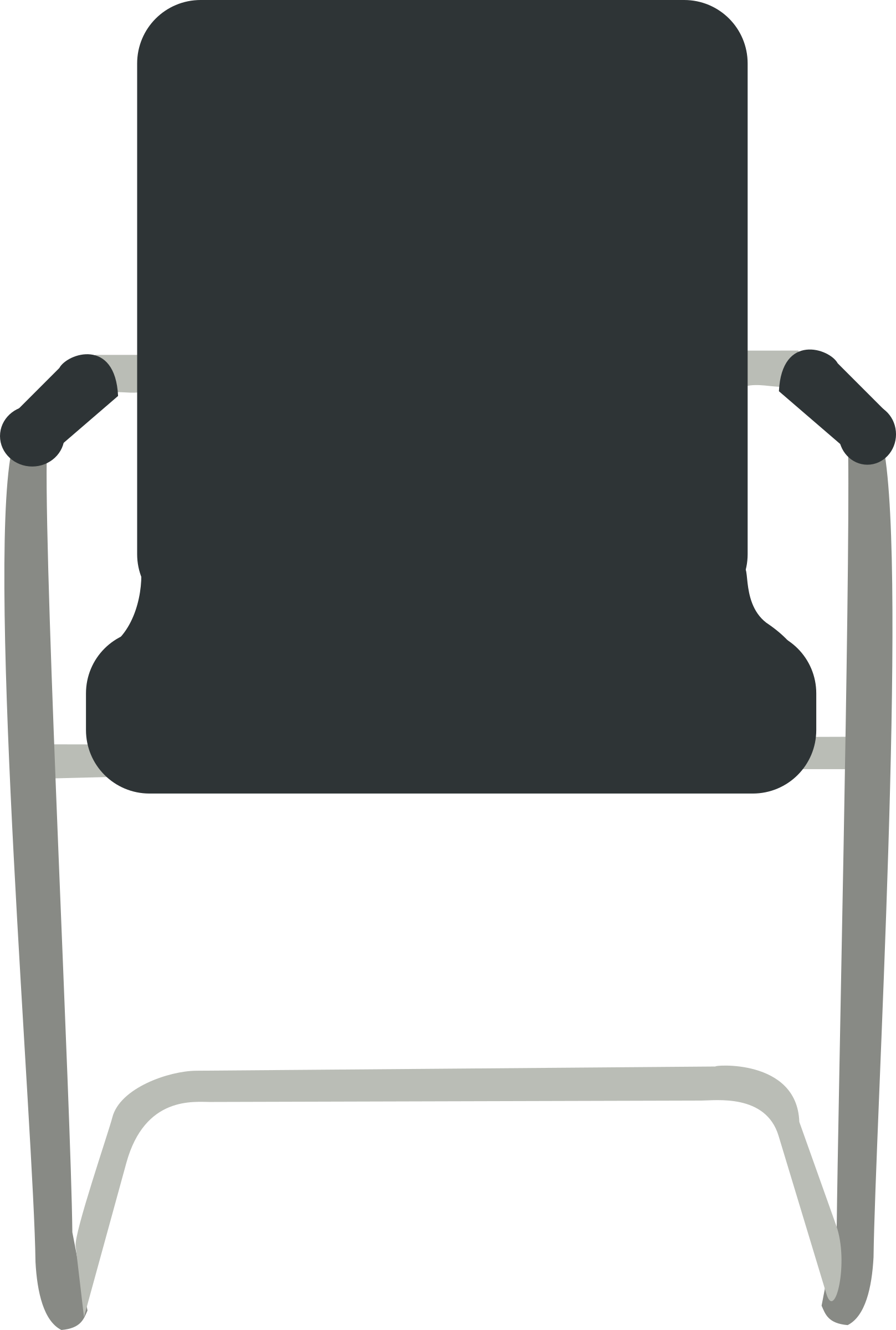 Volleyball clipart chair. Desk black big image