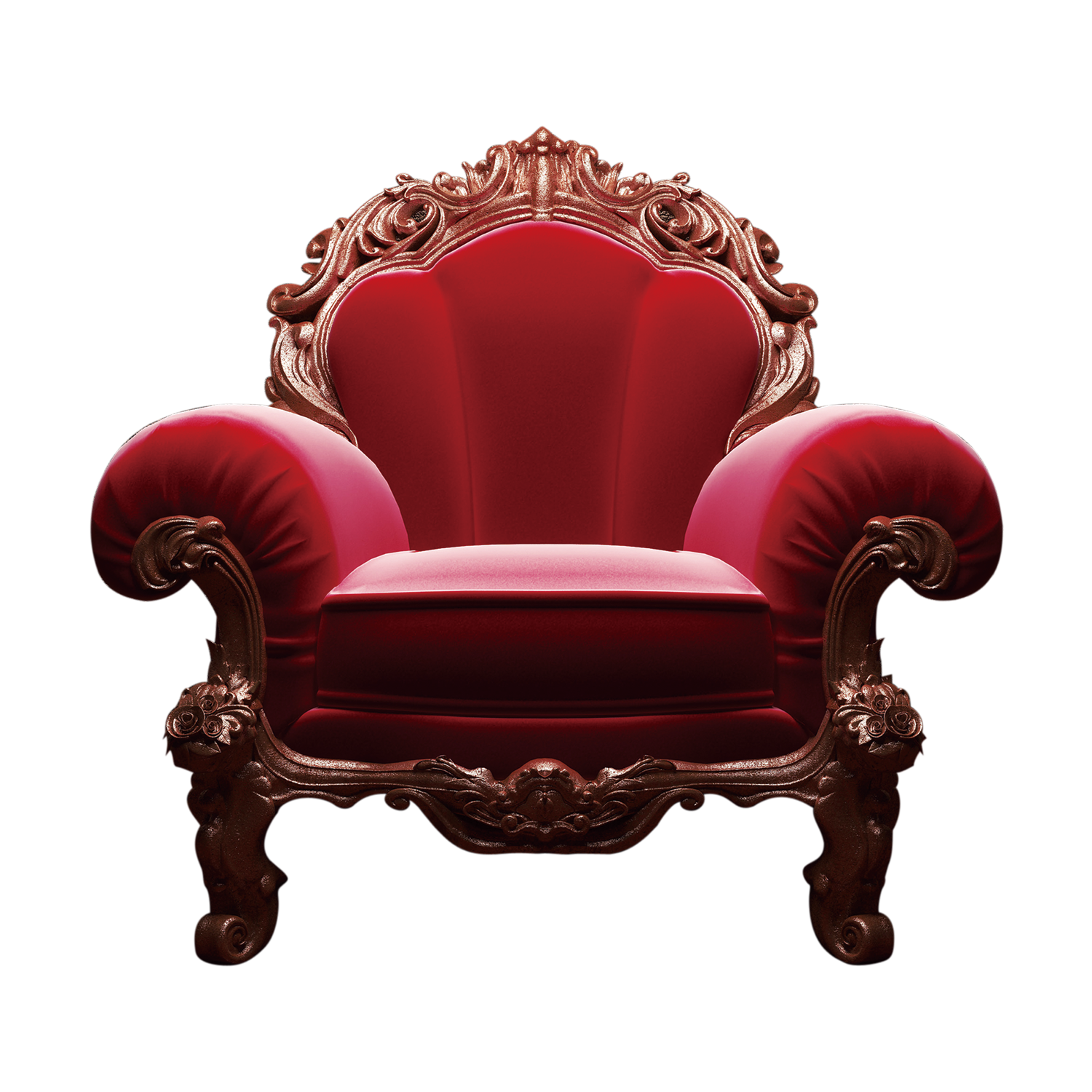 Chair table upholstery clip. Furniture clipart red couch