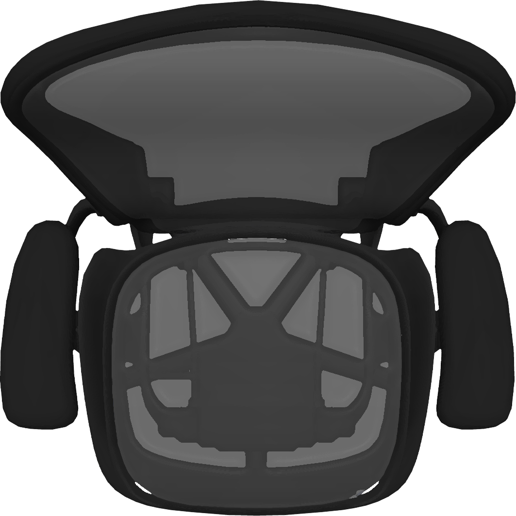 Clipart chair top view.  beauty free png