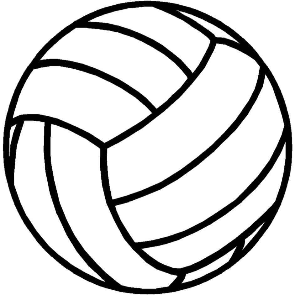 Border group ball cliparts. Clipart volleyball red