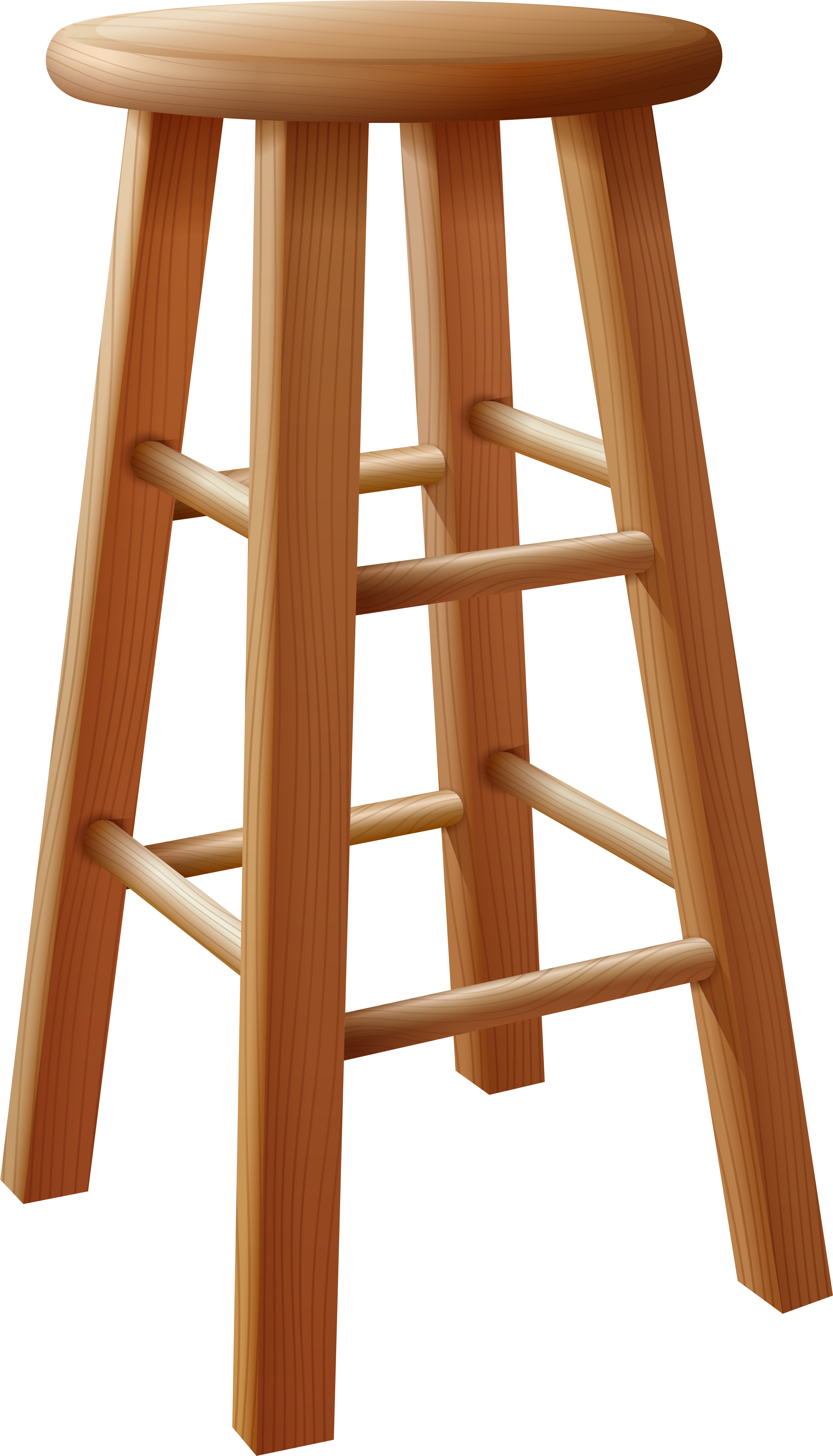 Made of wood download. Clipart chair wooden stool