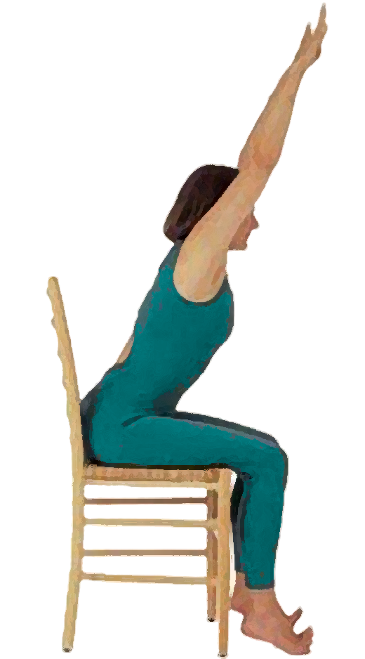 Zumba pencil and in. Exercising clipart chair exercise