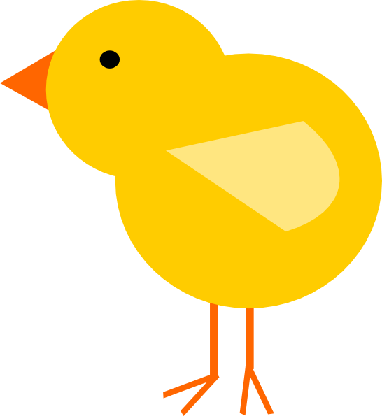 Nest clipart yellow bird. Baby chick clip art