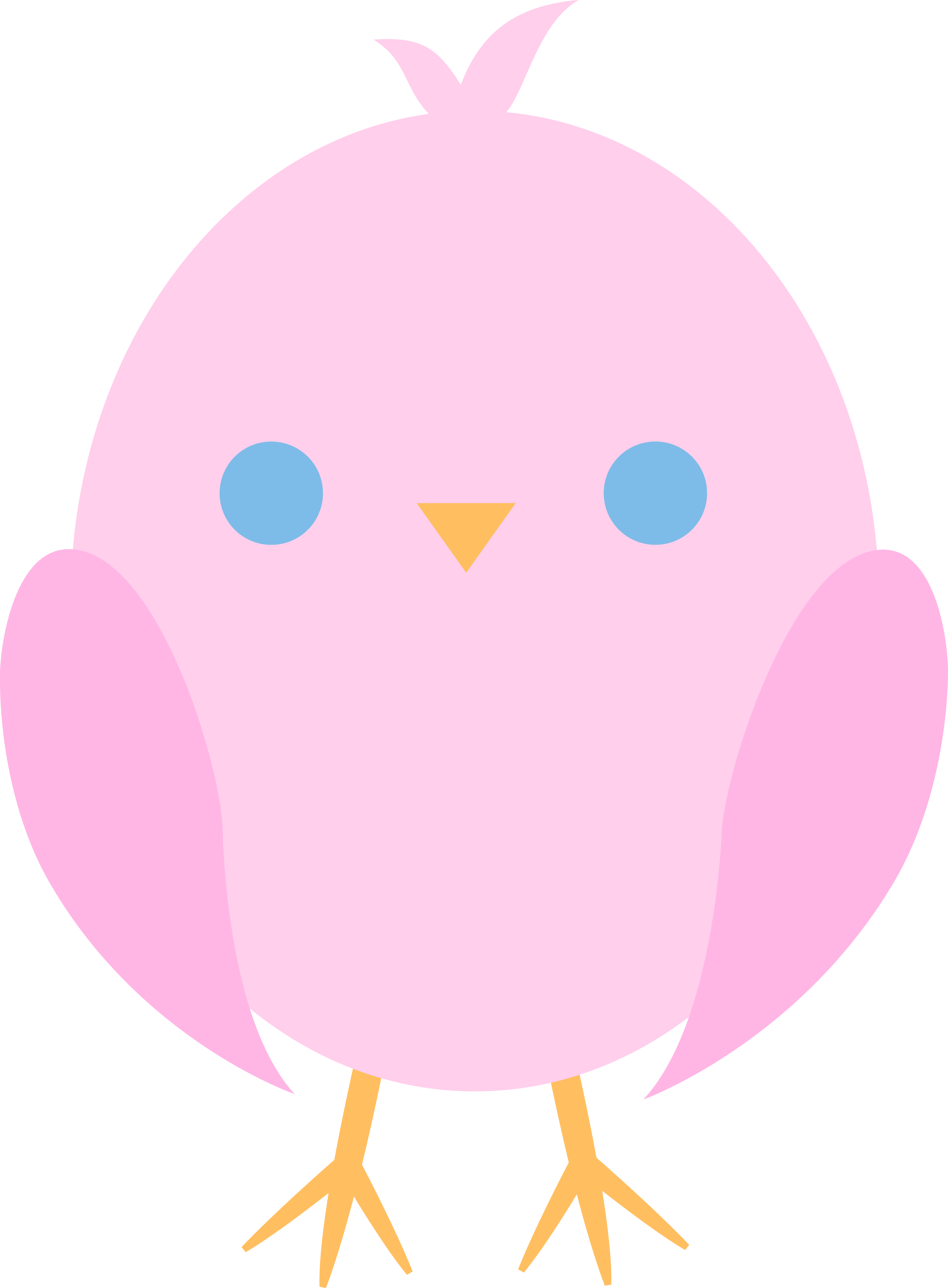 hen clipart baby chick