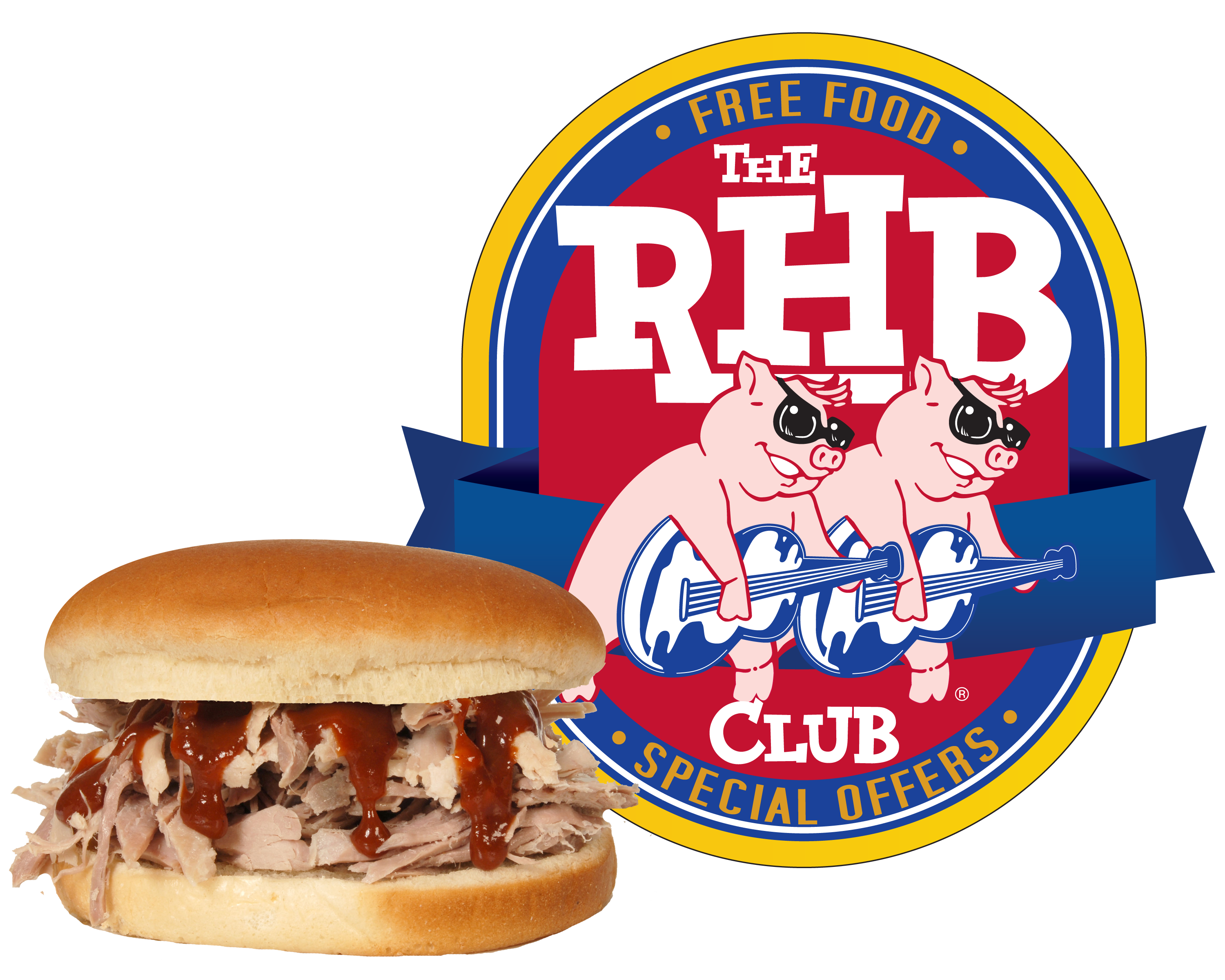 Ham clipart barbecue meat. Plano restaurant catering red