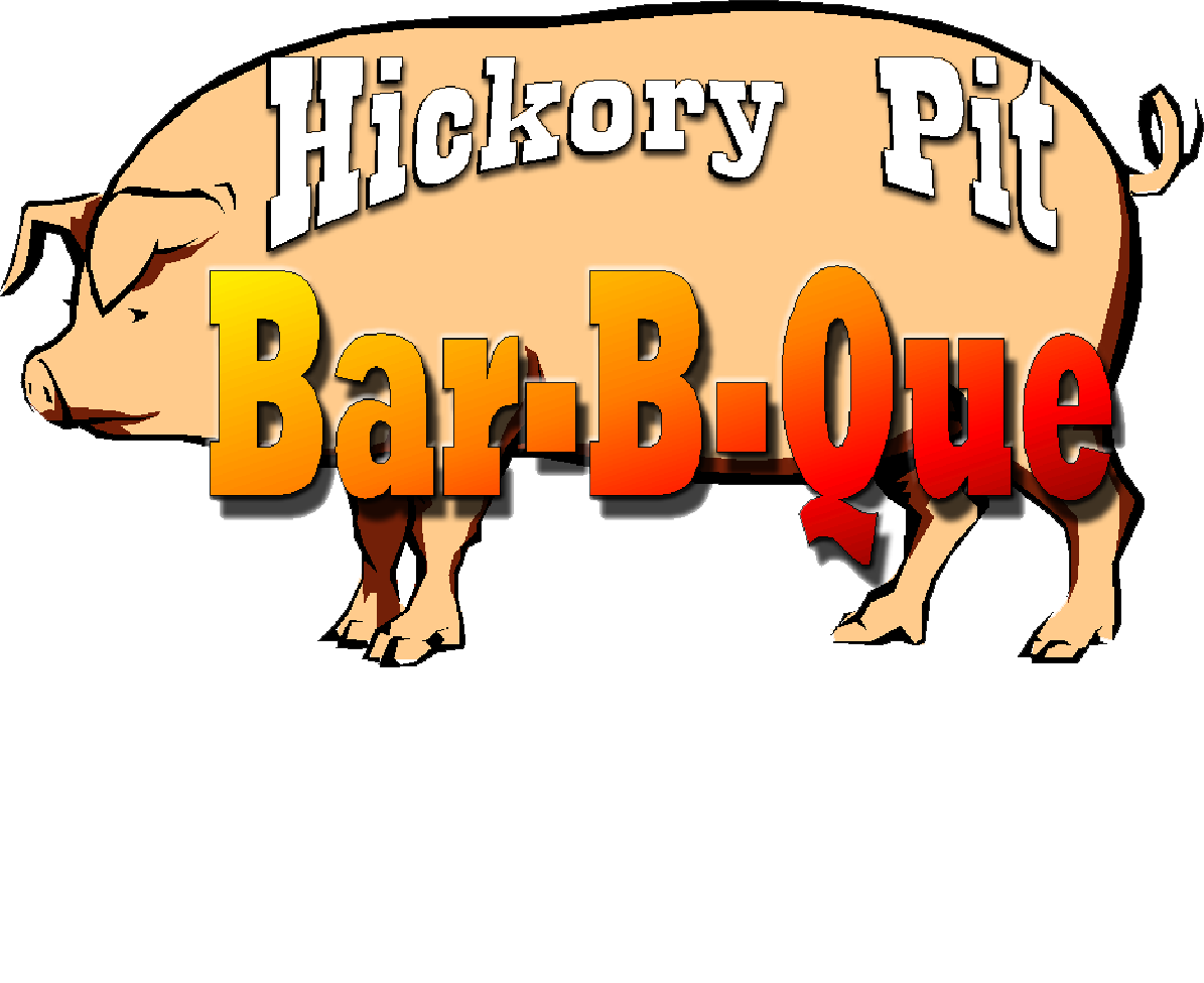 Hungry clipart bbq restaurant. Hickory pit bar b