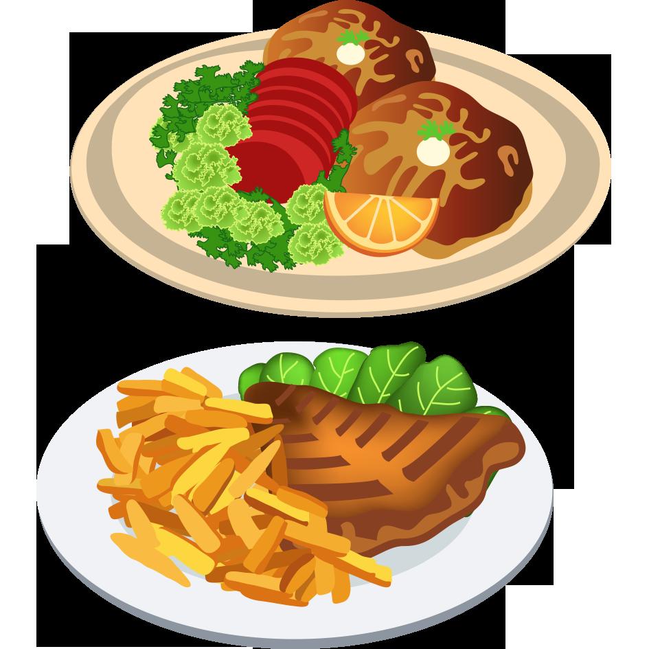 Foods clipart dinner, Foods dinner Transparent FREE for ...