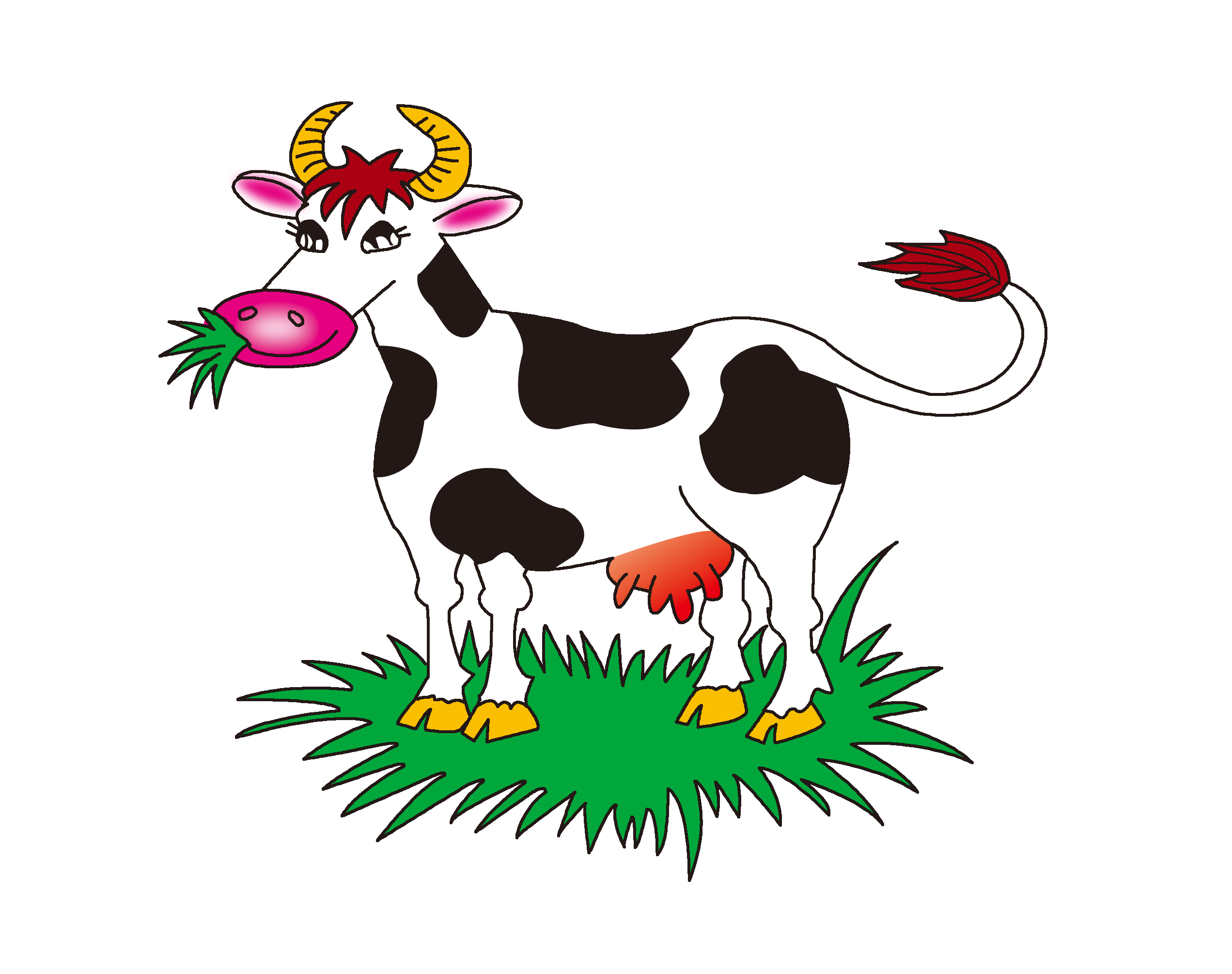 Farmers clipart cattle farming. Beef farm eating clip