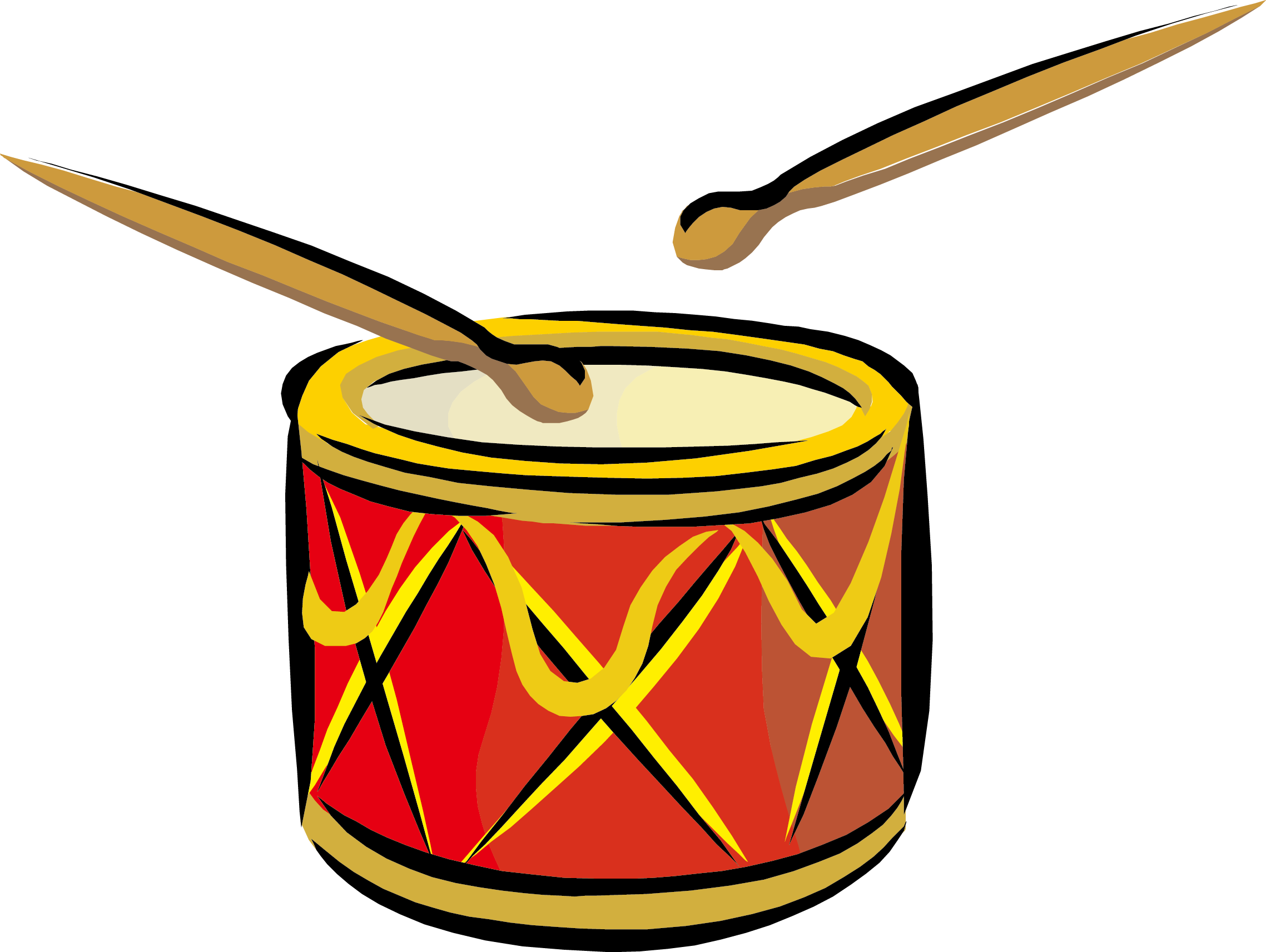 Drums clipart drum roll. Stick snare clip art