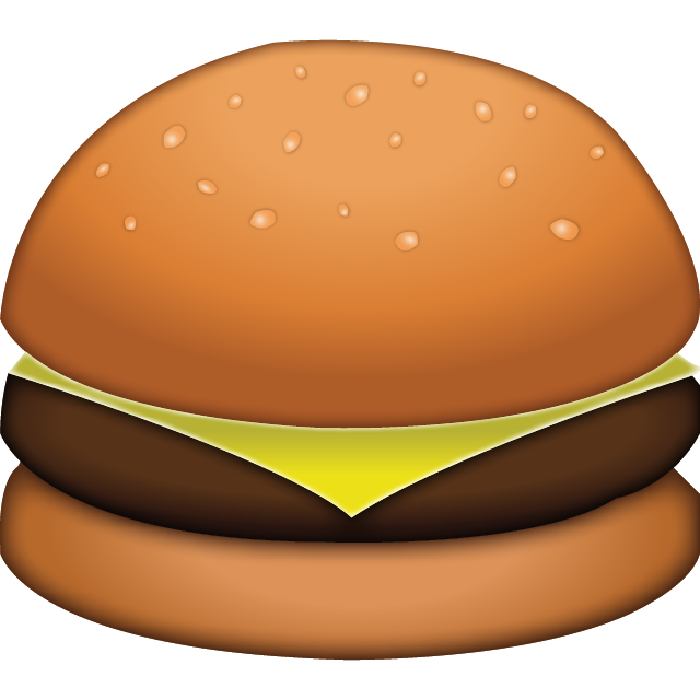 Download cheese emoji icon. Meal clipart burger meal