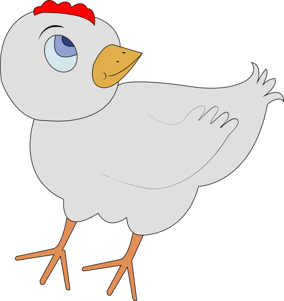 Eye clipart chicken. Figure color clip art