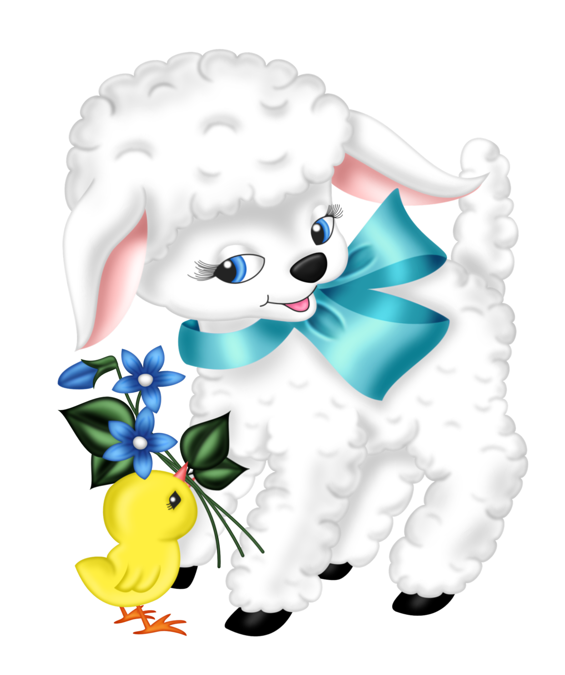 Pet clipart companion. Transparent easter lamb and