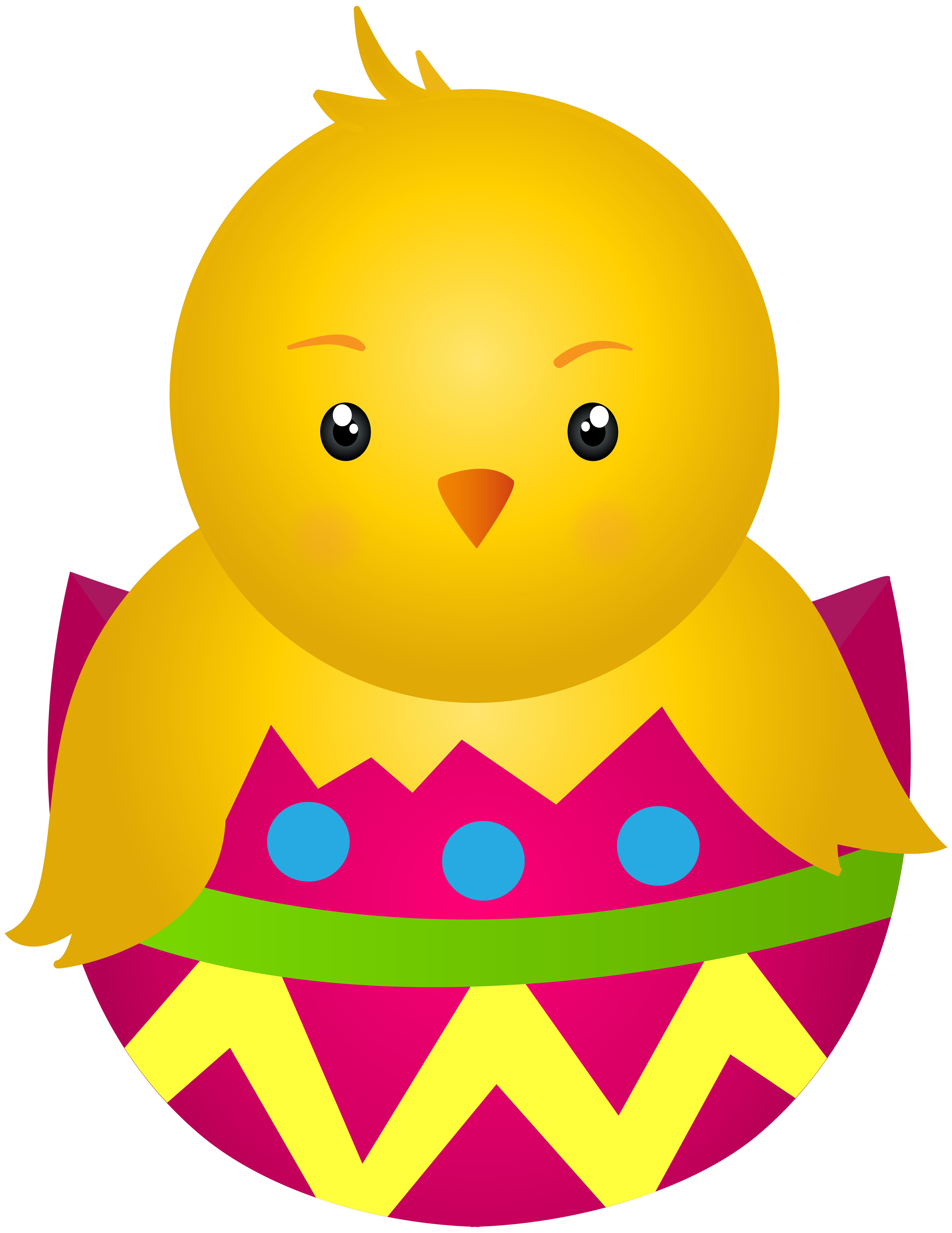 Chicken with egg clip. Clipart easter character