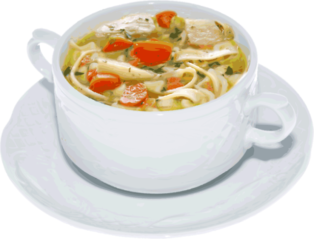 Does chicken help a. Clipart winter soup