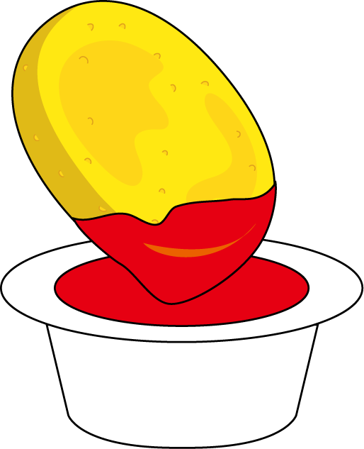 Fried drawing at getdrawings. Fat clipart chicken nugget fry