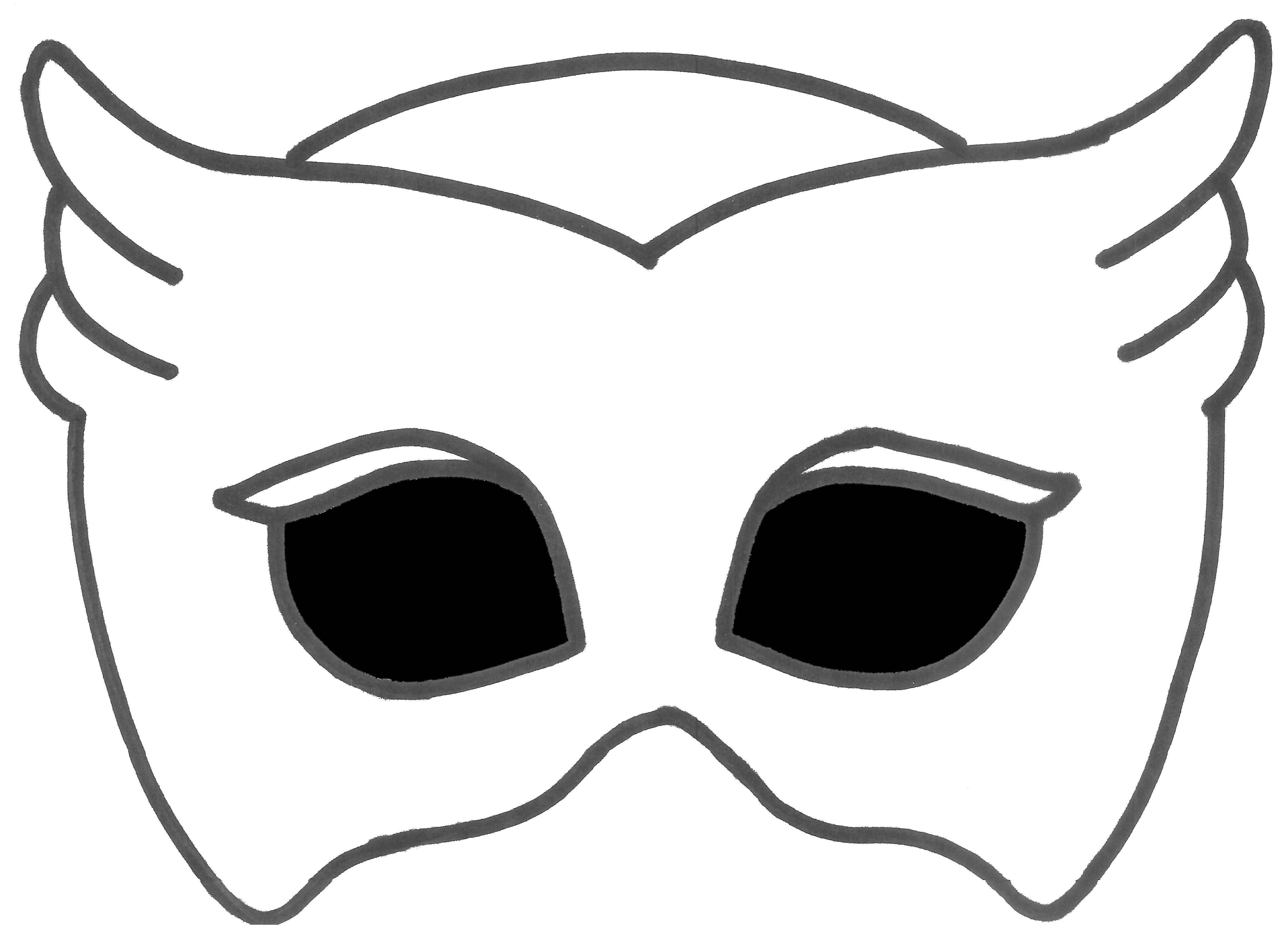 Mask clipart halloween.  f b c