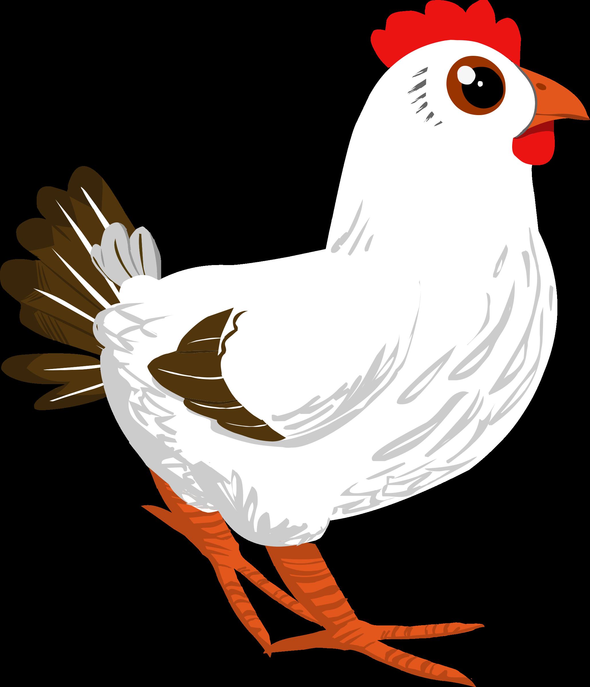 Inhabitants npc big image. Clipart chicken tail