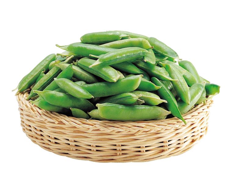 Pea green bean vegetable. Vegetables clipart seasonal food