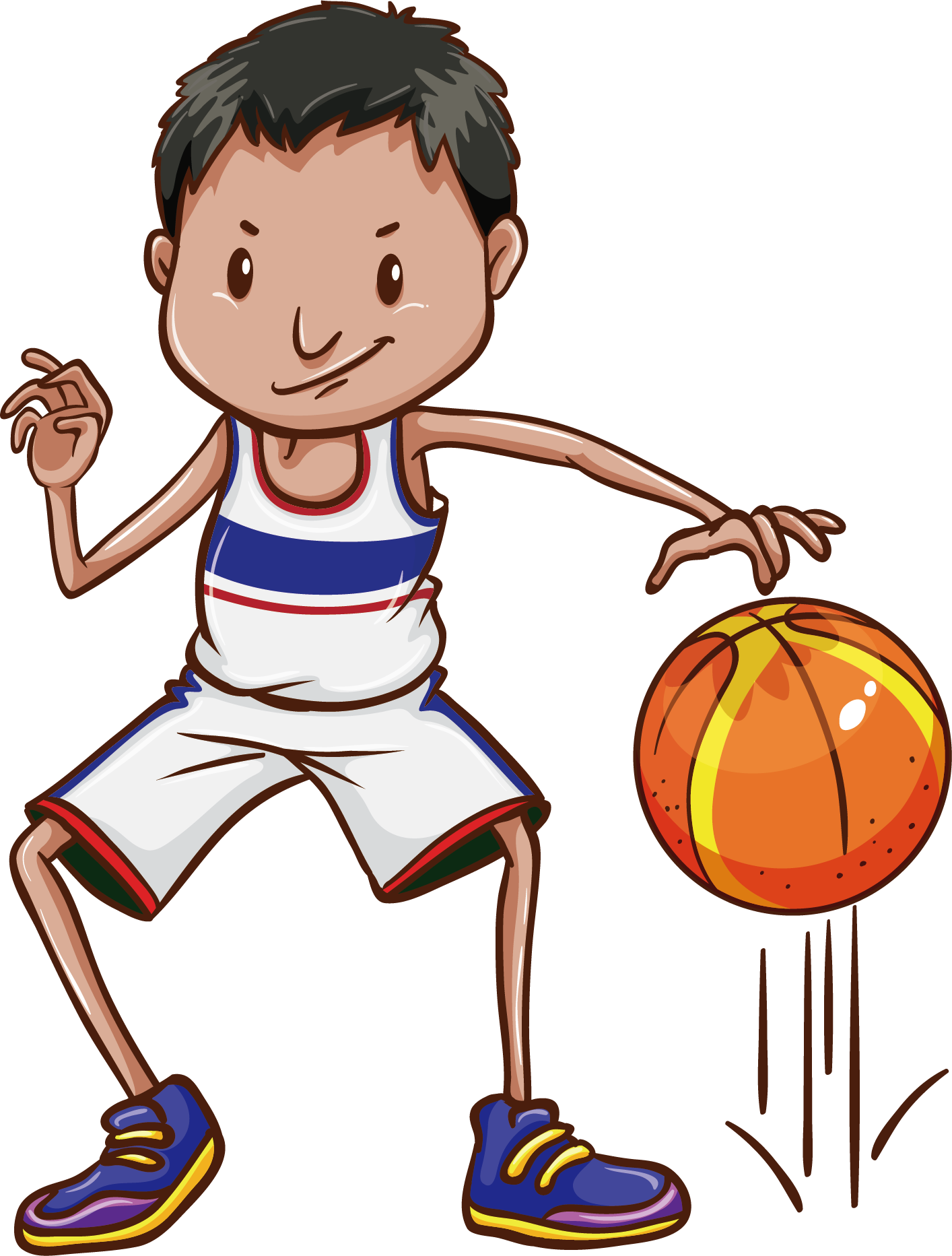 Pe clipart physical need. Basketball dribbling clip art