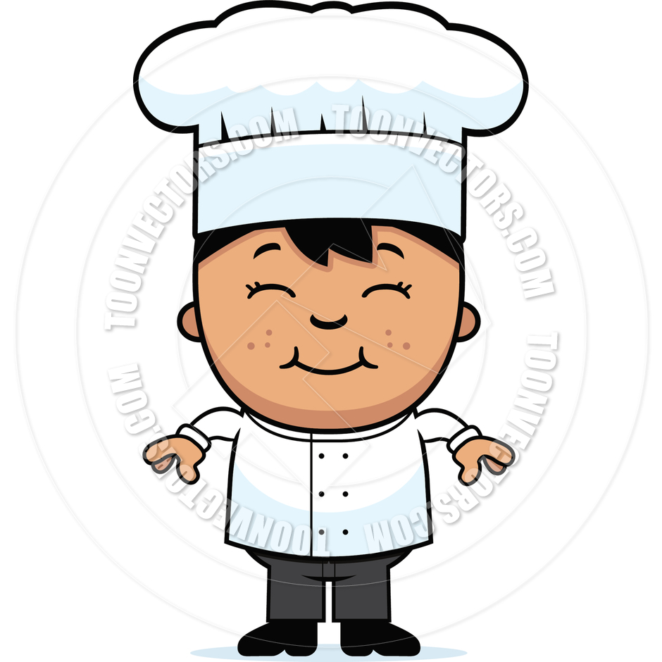 Chef clip art child. Cook clipart baby
