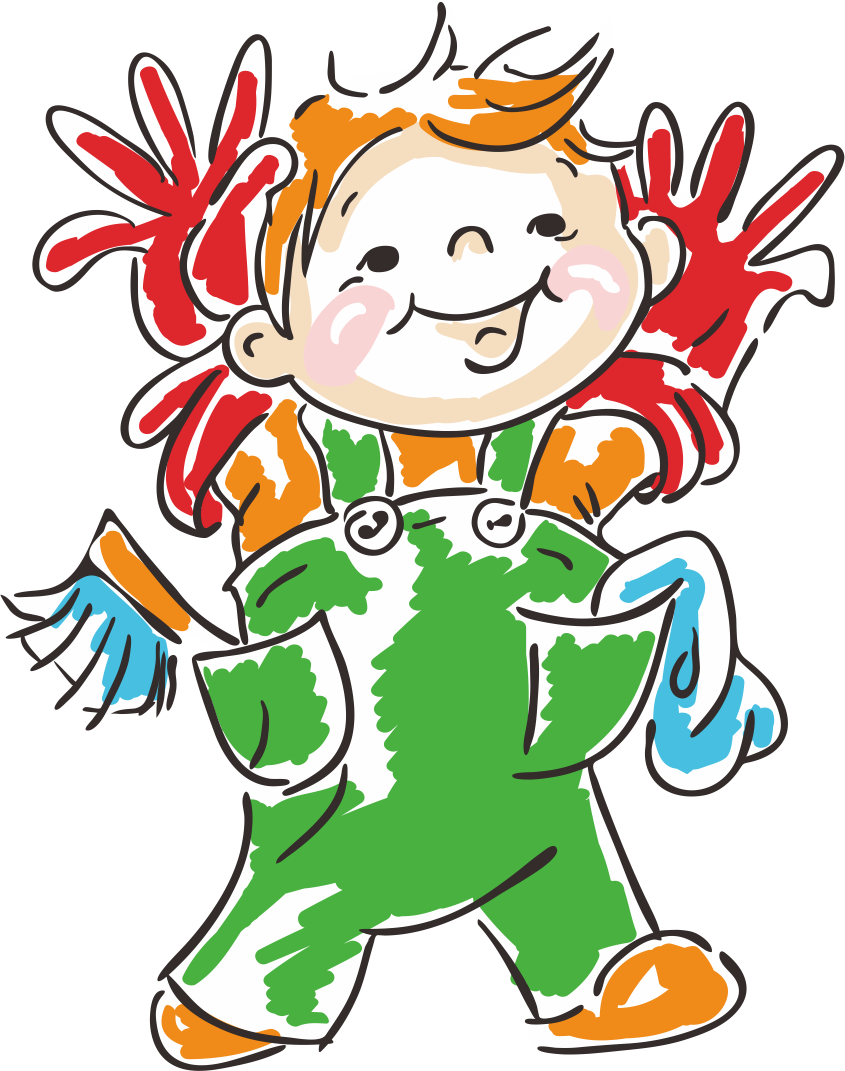 Student clipart character. Classroom child cleaning clip