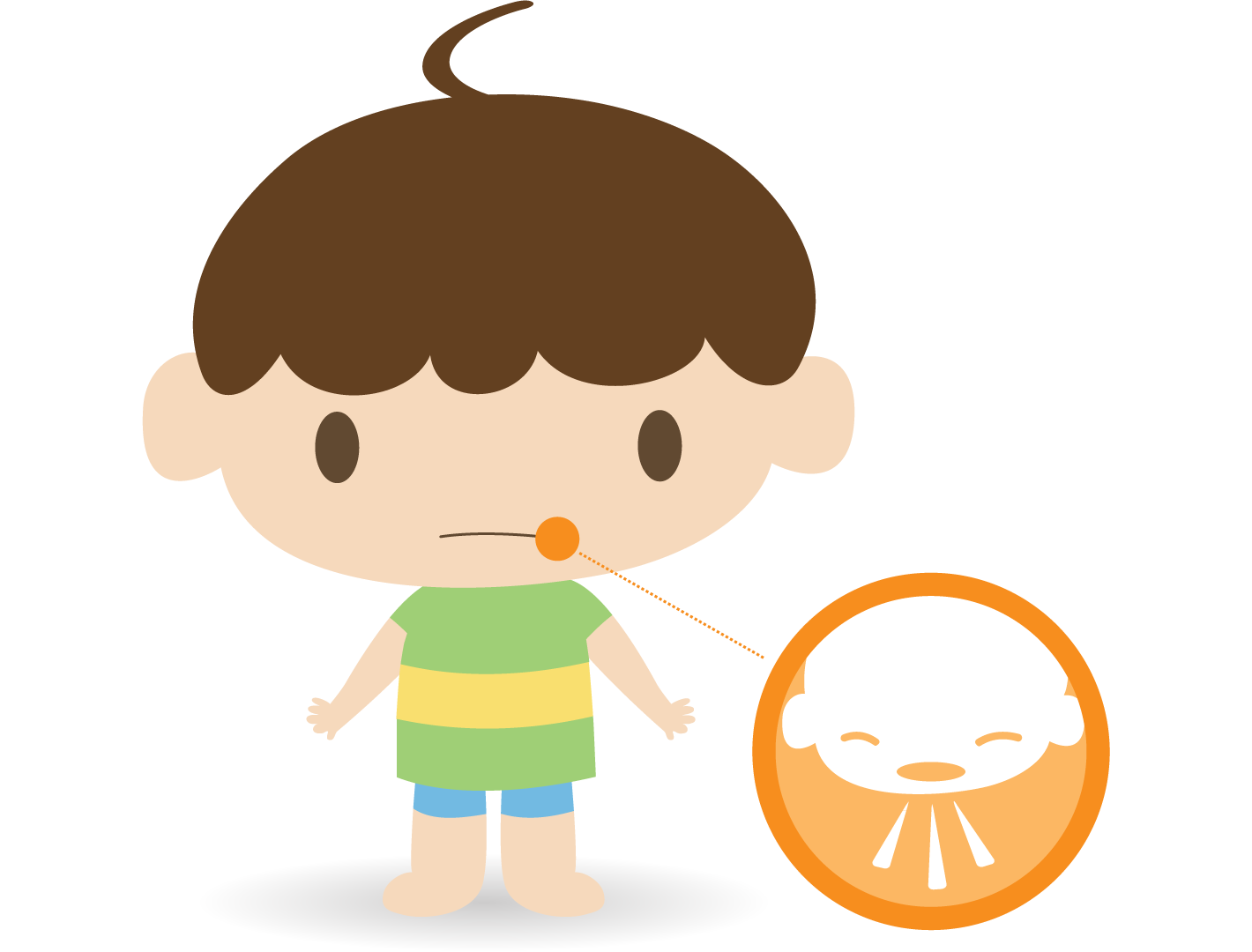 Pain clipart boy. Common cold alberta health