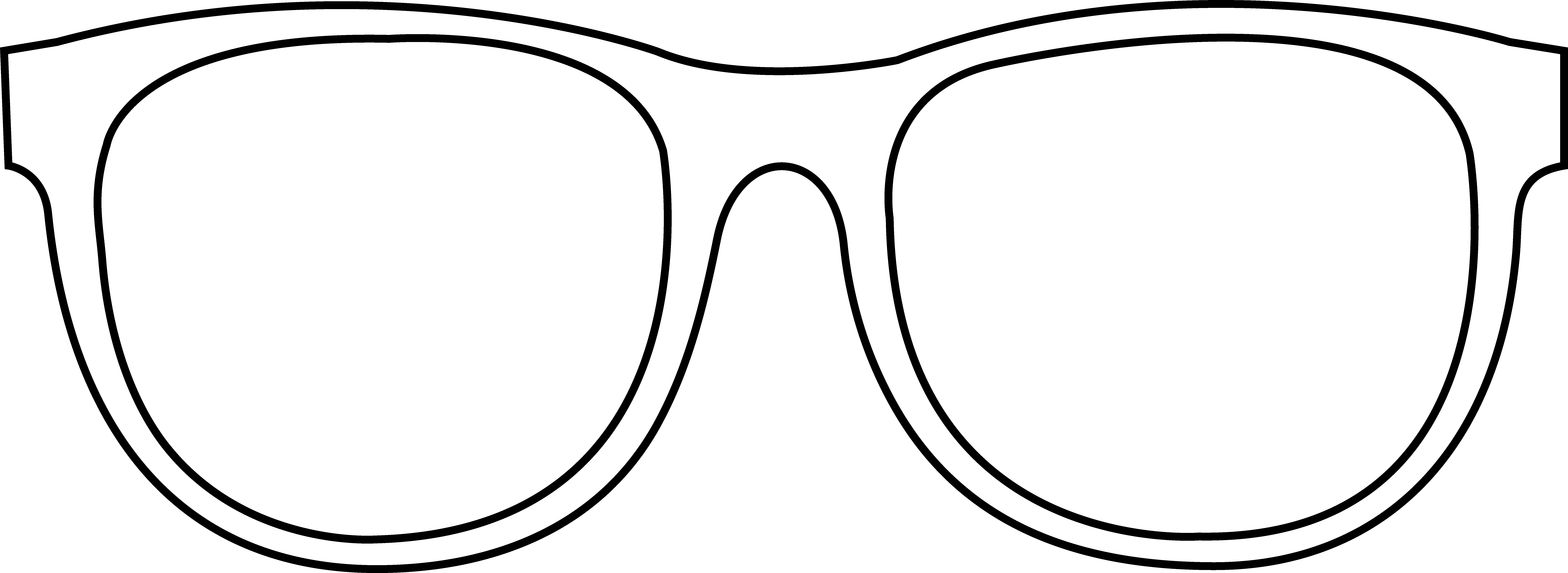 Printable free collection download. Clipart sunglasses line art