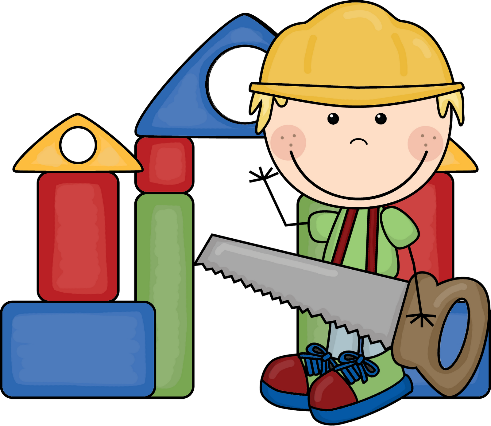 Best of kids building. Shop clipart kid