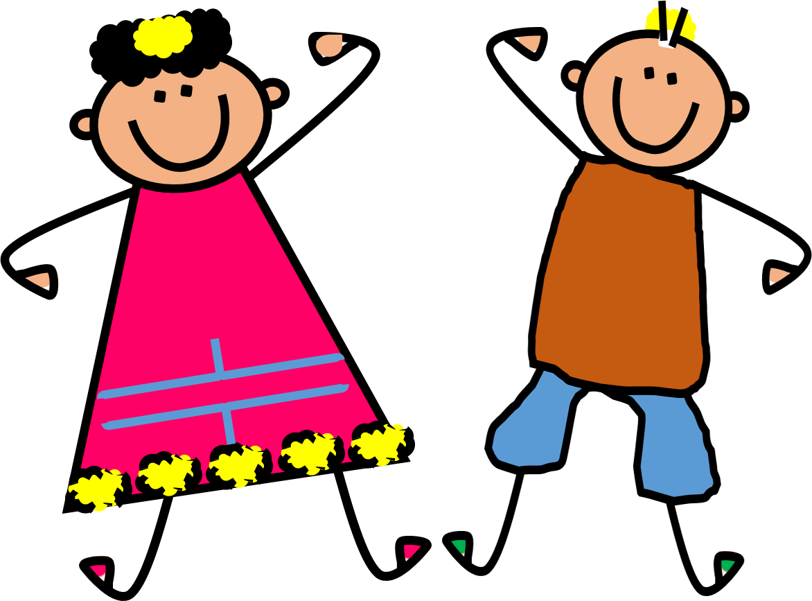 Kids at getdrawings com. Draw clipart dancing kid