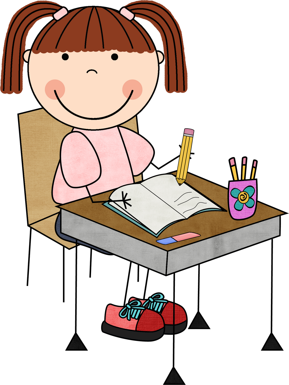 Writer clipart calm student.  collection of writing