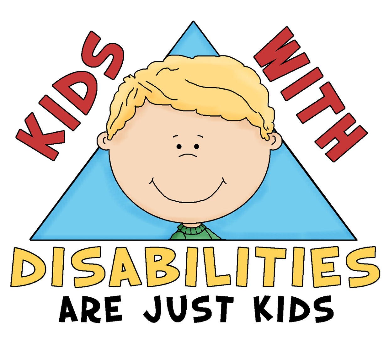 collection of children. Clipart definition intellectual disability