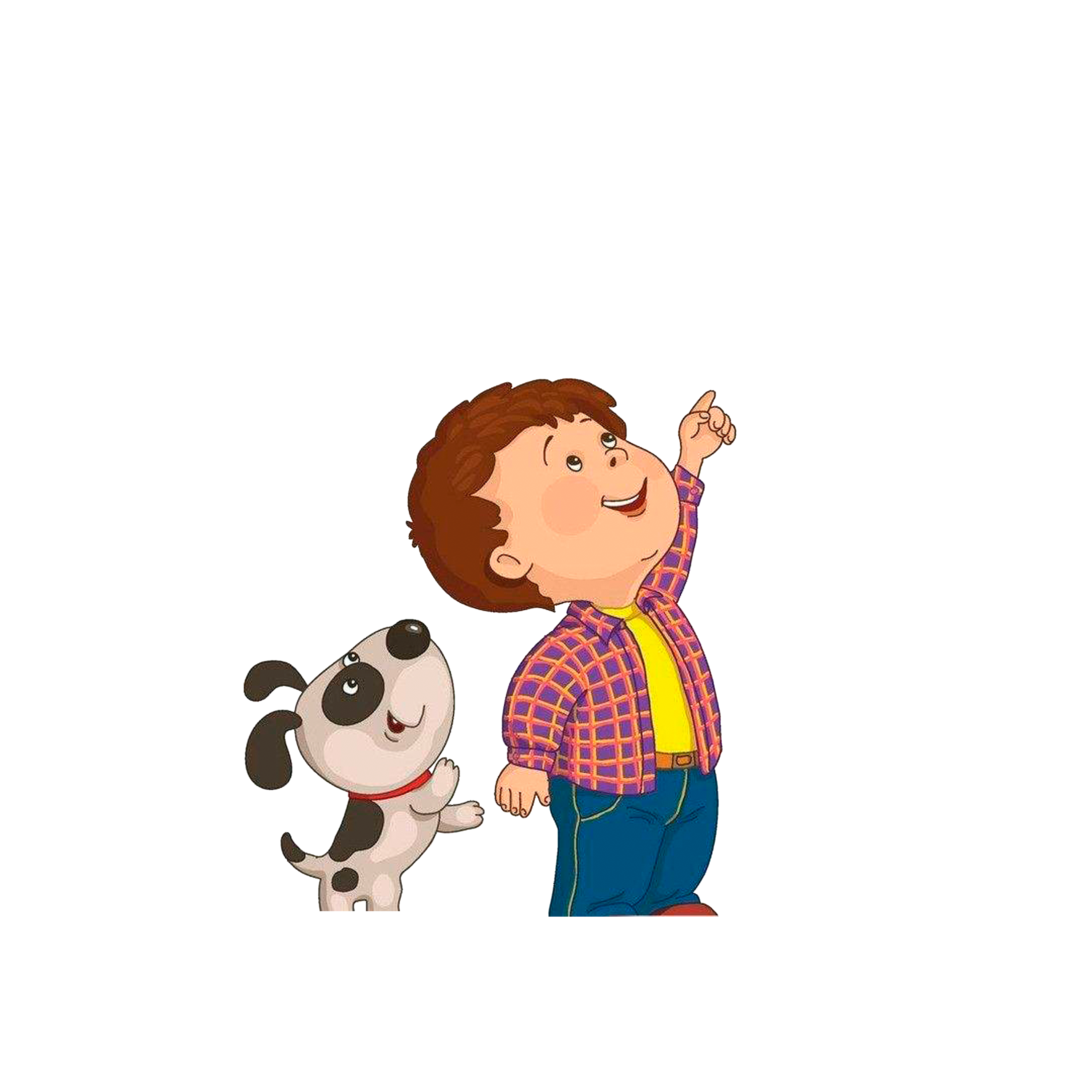 Dogs clipart boy. Child drawing clip art