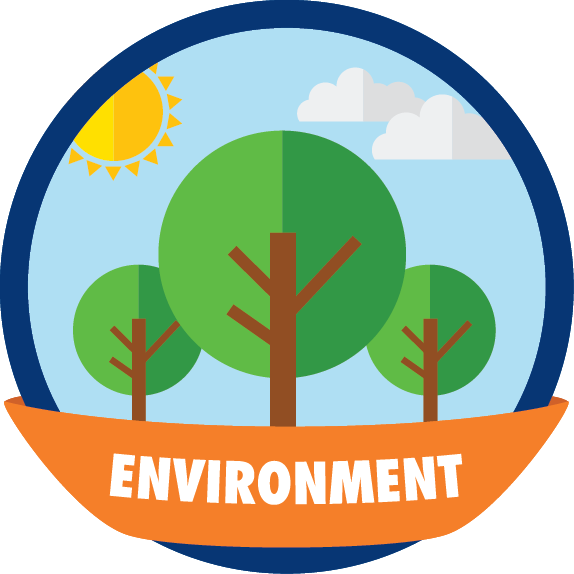Environment clipart arbor day. Our badge teaches kids