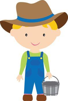 Farm for kids free. Farmers clipart cute