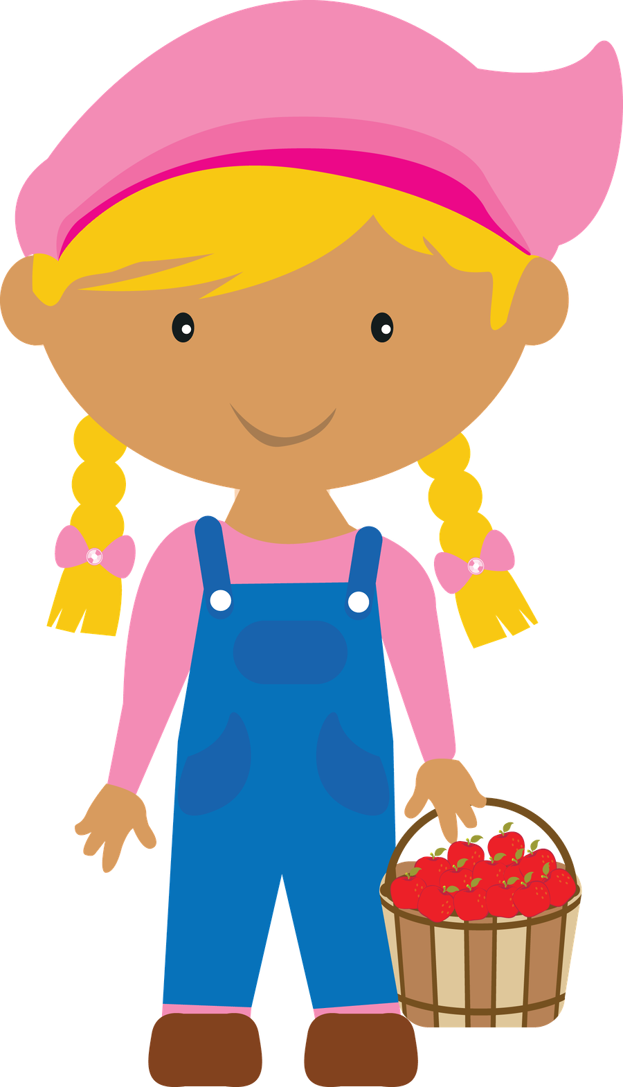 Kids clipart farmer.  collection of girl