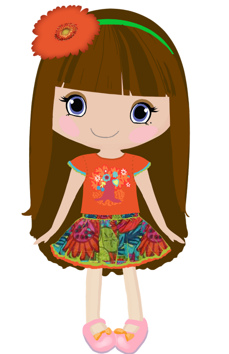 Princess for kids at. Dot clipart kid