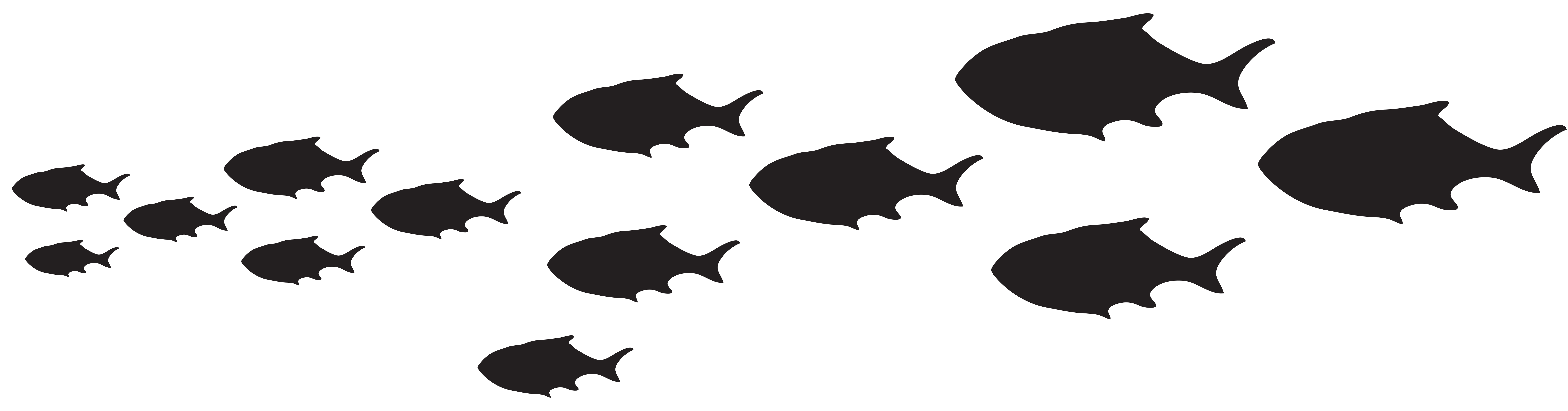 Fish silhouette clip art. Hunting clipart fishing boat