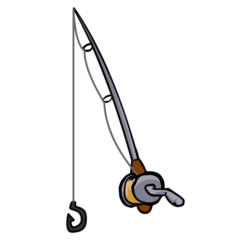 Fisherman clipart rod. Fishing pole kid clipartix