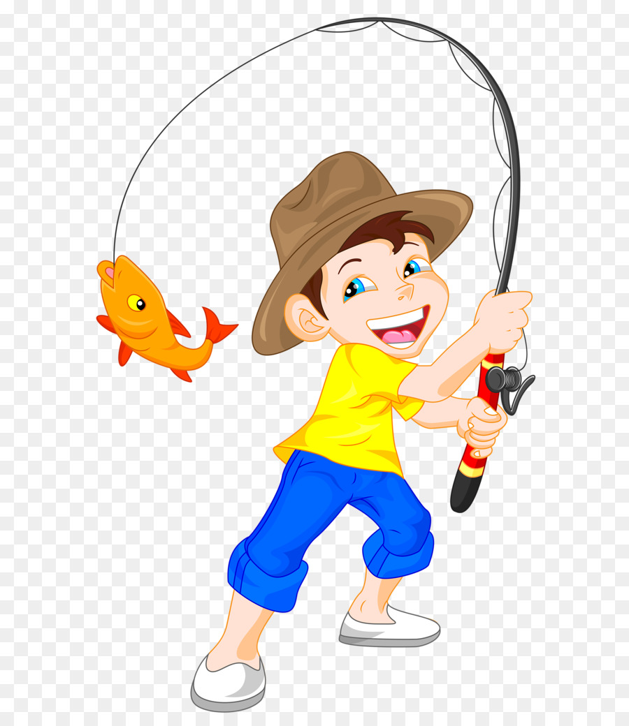 Fisherman clipart child. Fishing cartoon clothing