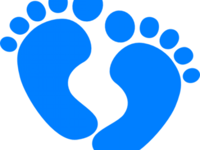 Infant clipart footprint. Baby foot prints free